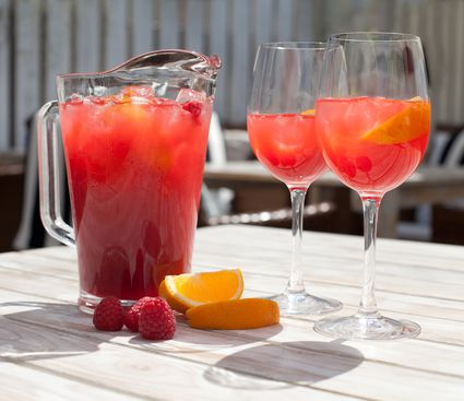 Raspberry Lemonade Sangria
