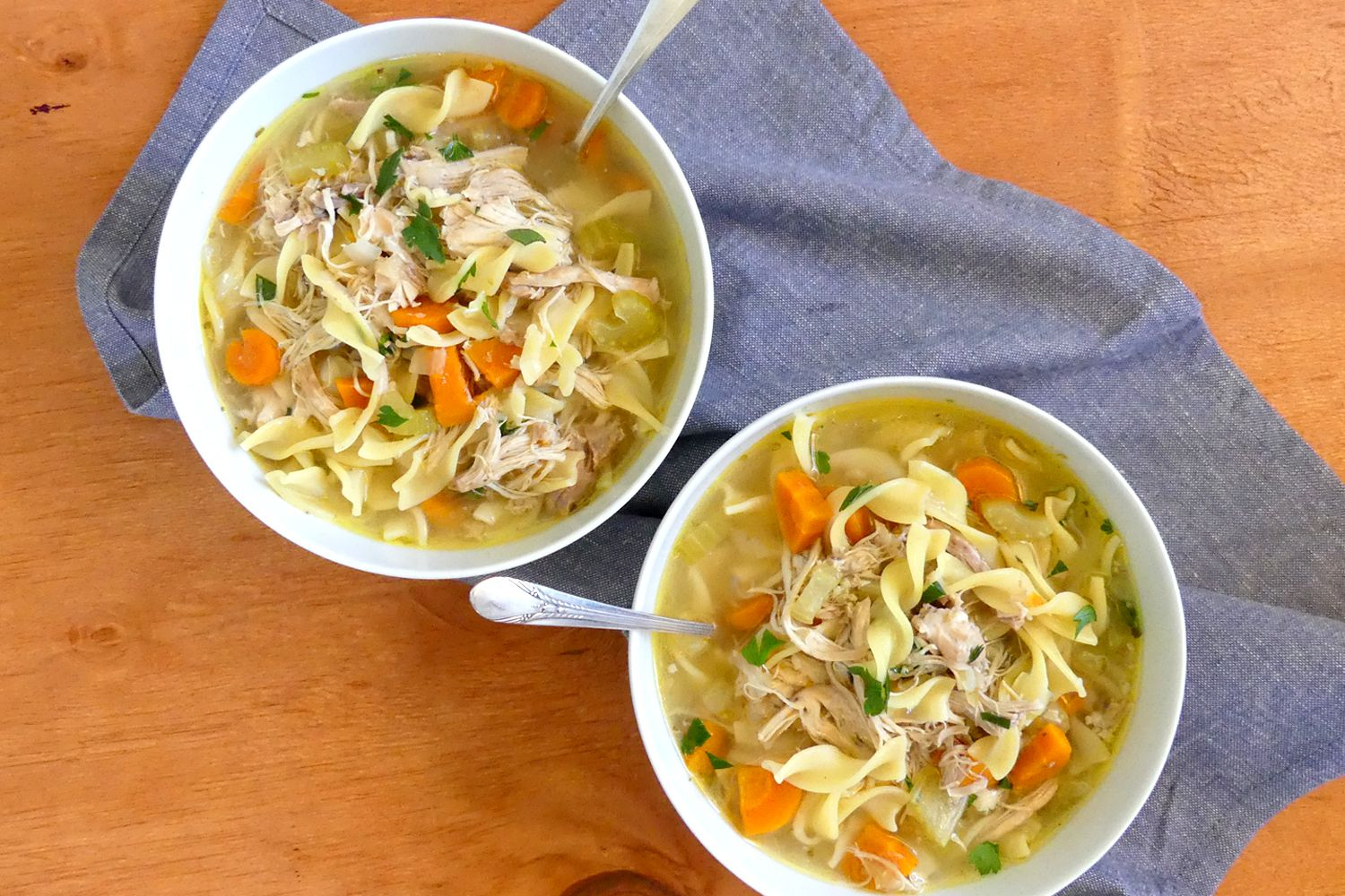 This Instant Pot Chicken Noodle Soup Is Incredibly Quick