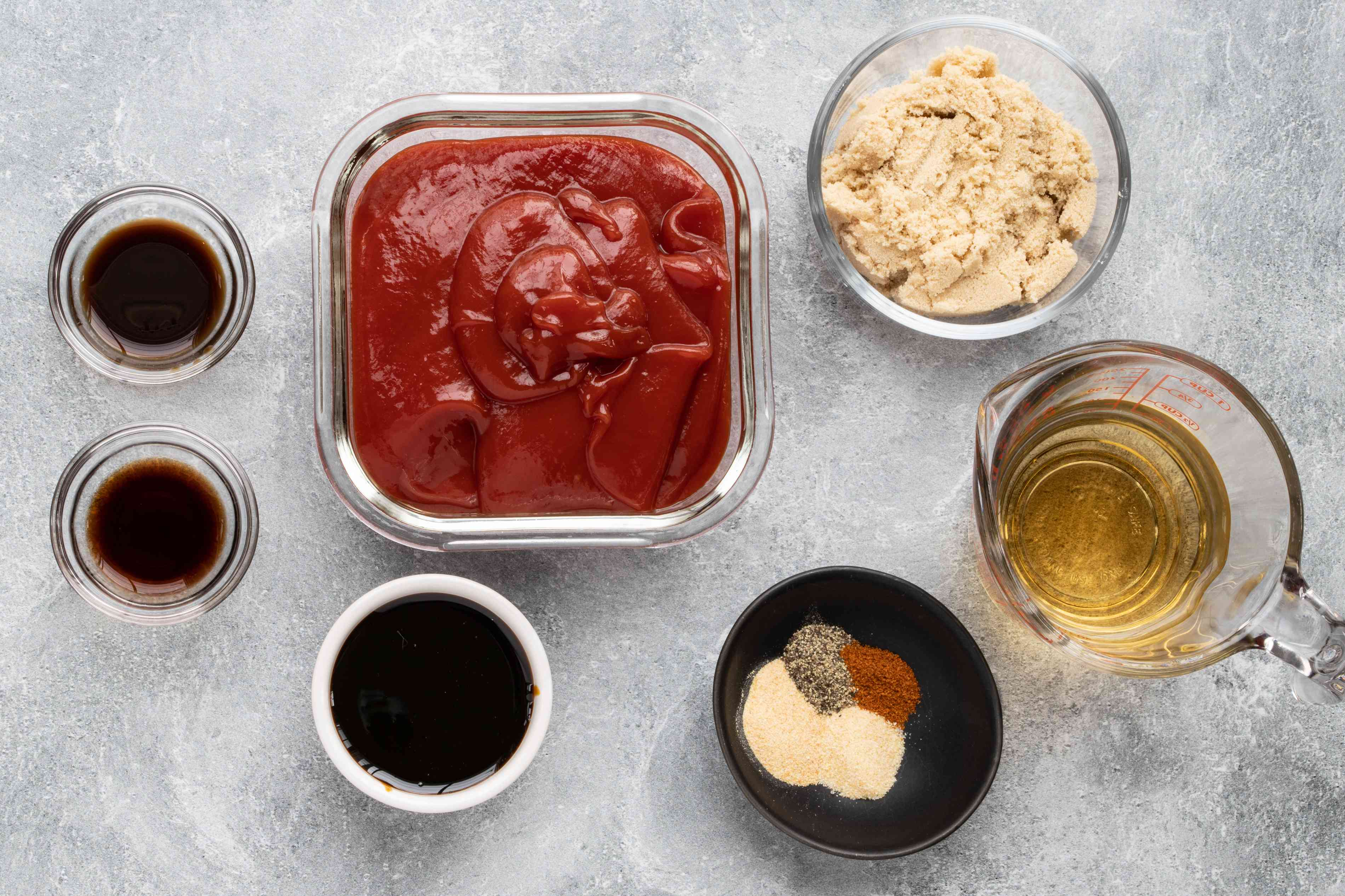 ingredients for classic bbq sauce