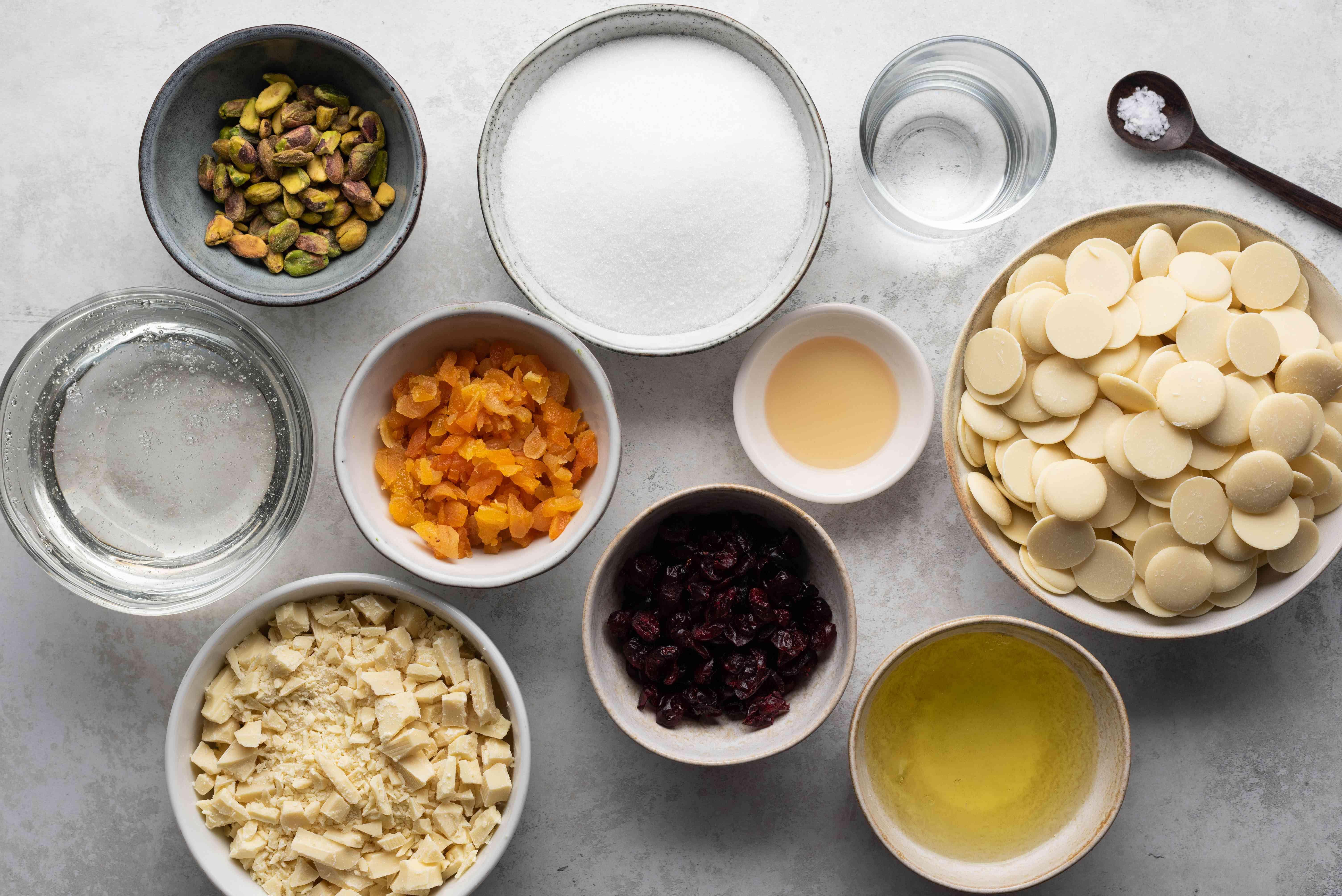 White Chocolate Nougat ingredients
