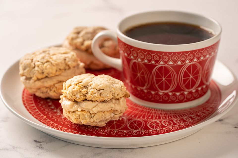 Galletas de avena y café