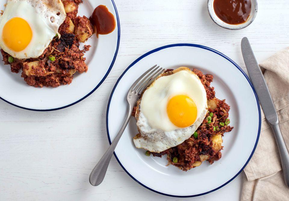 British Corned Beef Hash recipe