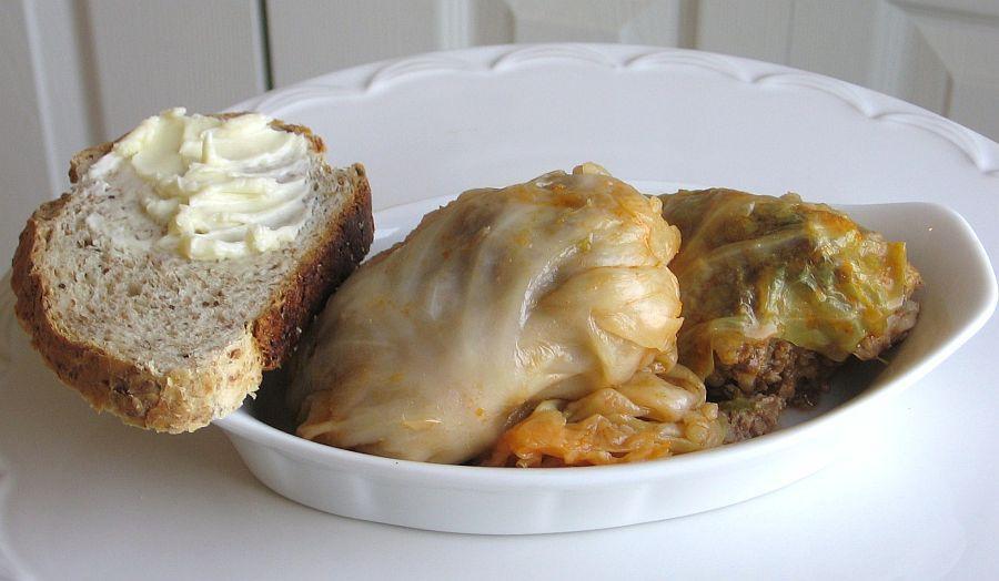 Czech / Slovak Pressure-Cooker Stuffed Cabbage