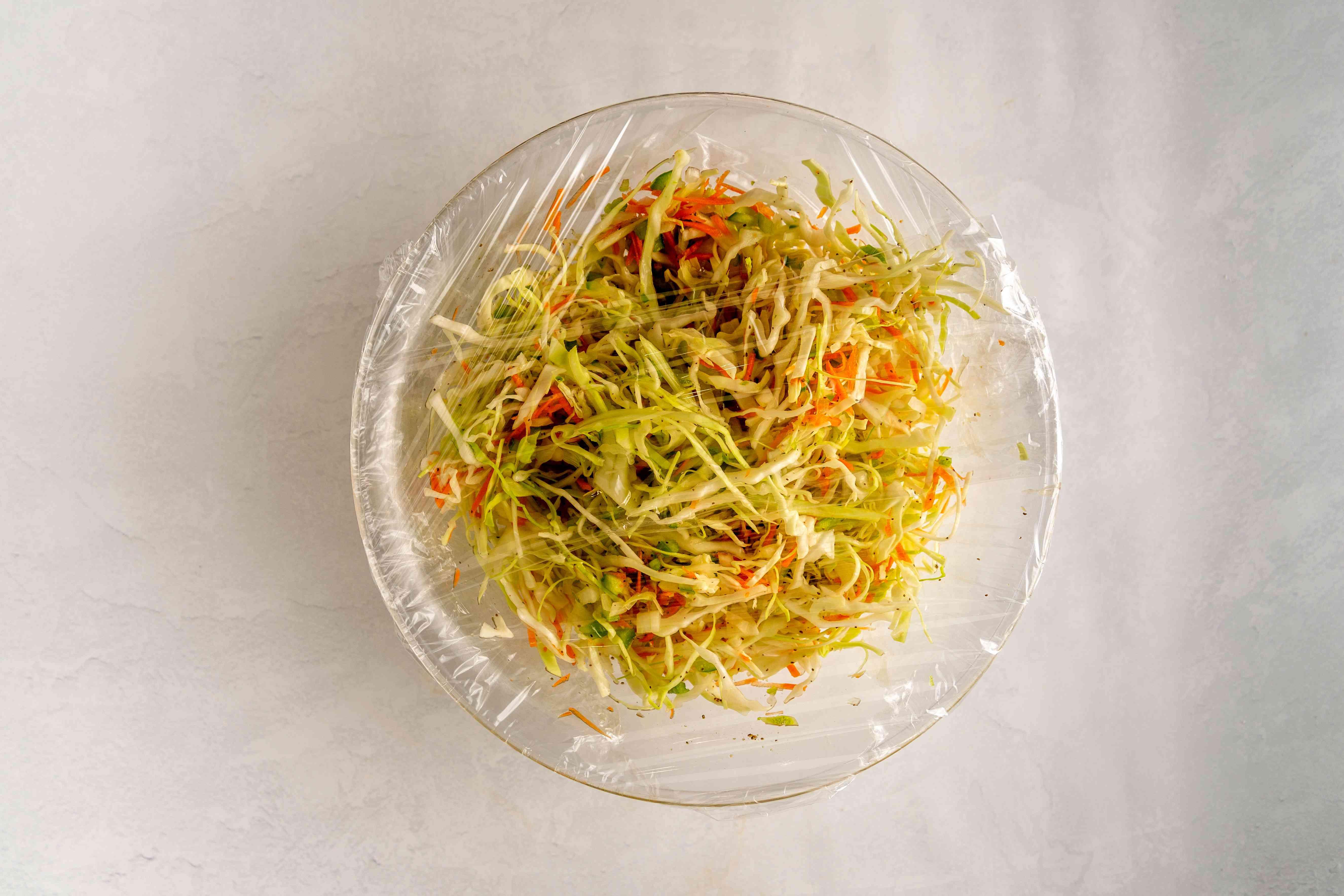Refridgerate coleslaw