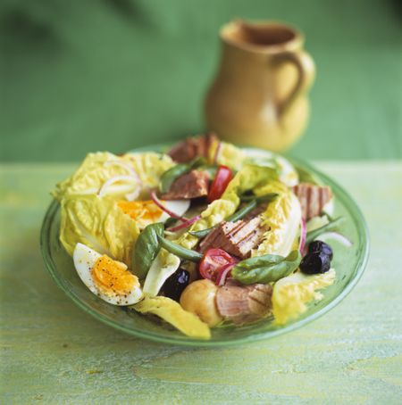 a french bistro salad the classic nicoise