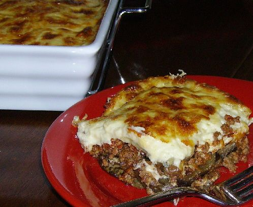 Photo of Classic Greek Moussaka with Eggplant