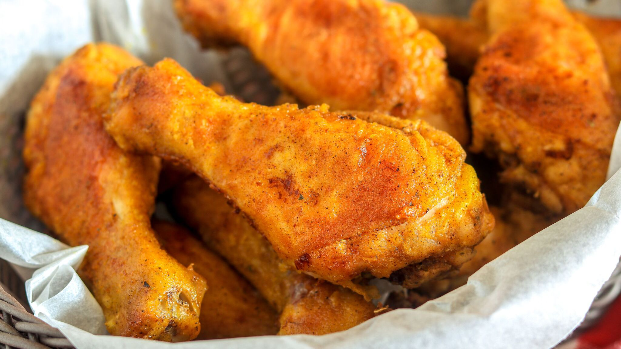 Oven Fried Chicken Drumsticks Recipe