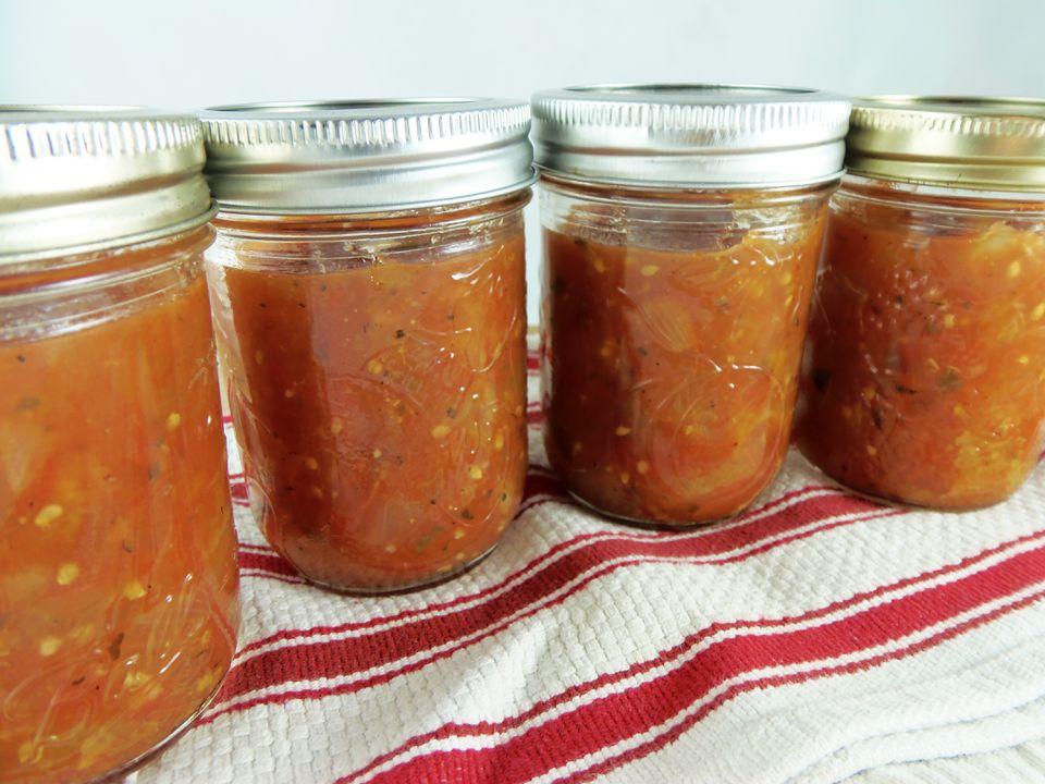 Salsa de tomate Crockpot