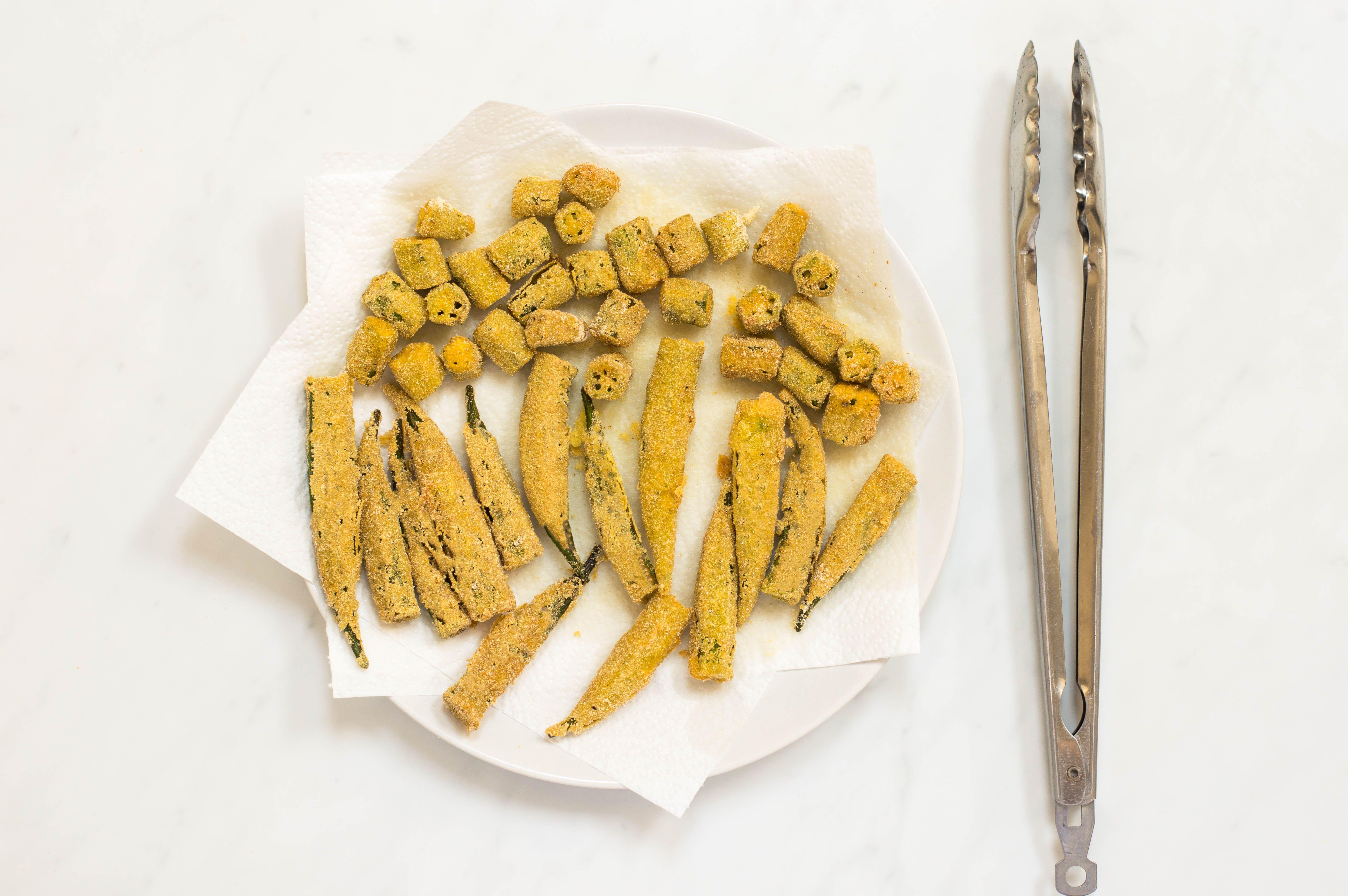 Deep-Fried Okra Recipe
