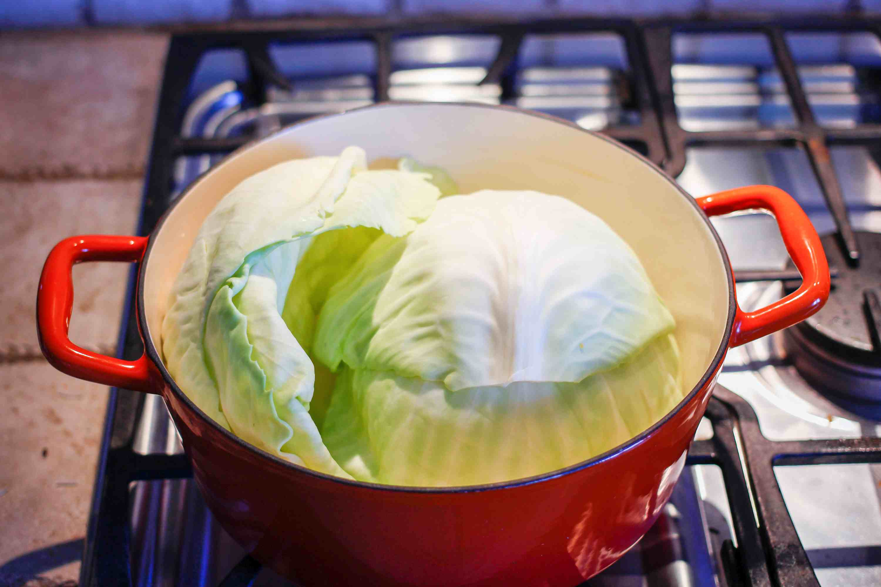 how to cook rice for cabbage rolls