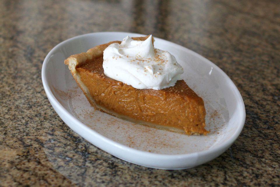 Sweet Potato Pie with Cream Cheese Pastry