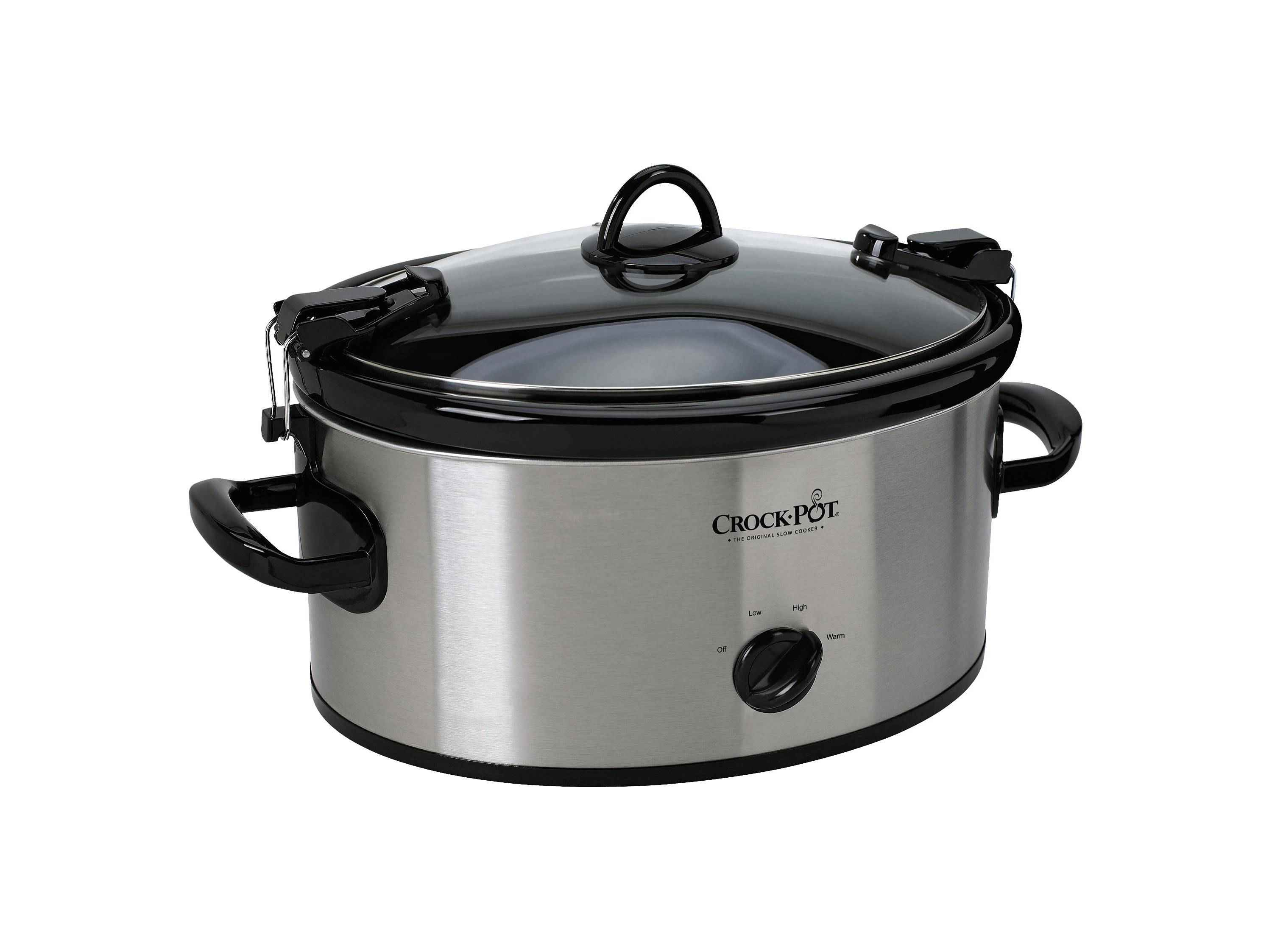 Best Budget Crock Pot 6 Quart Cook Carry Oval Manual Portable
