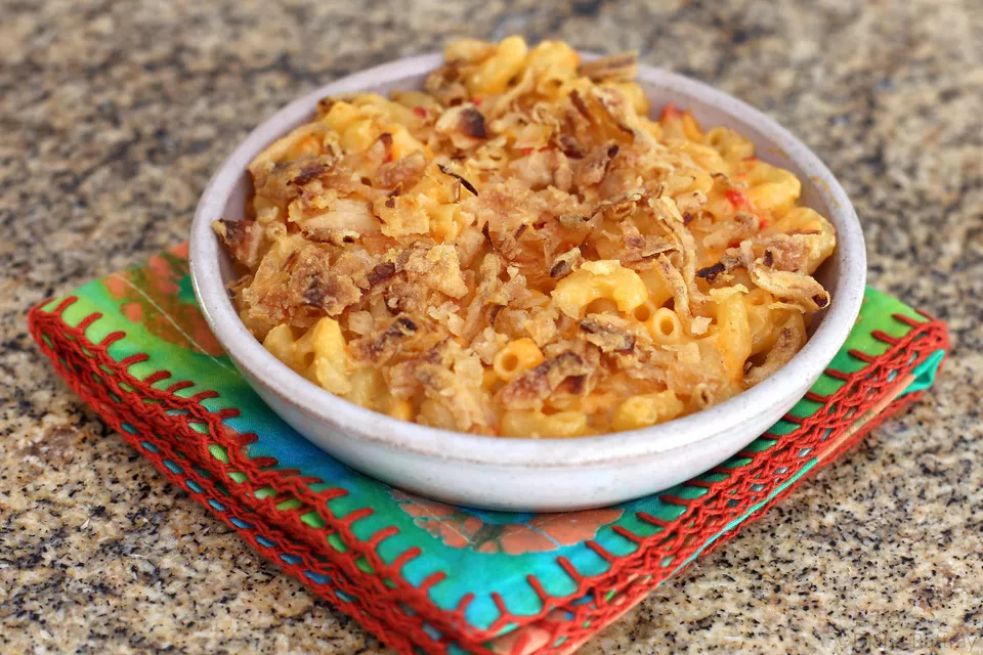 Southern Macaroni and Pimiento Cheese