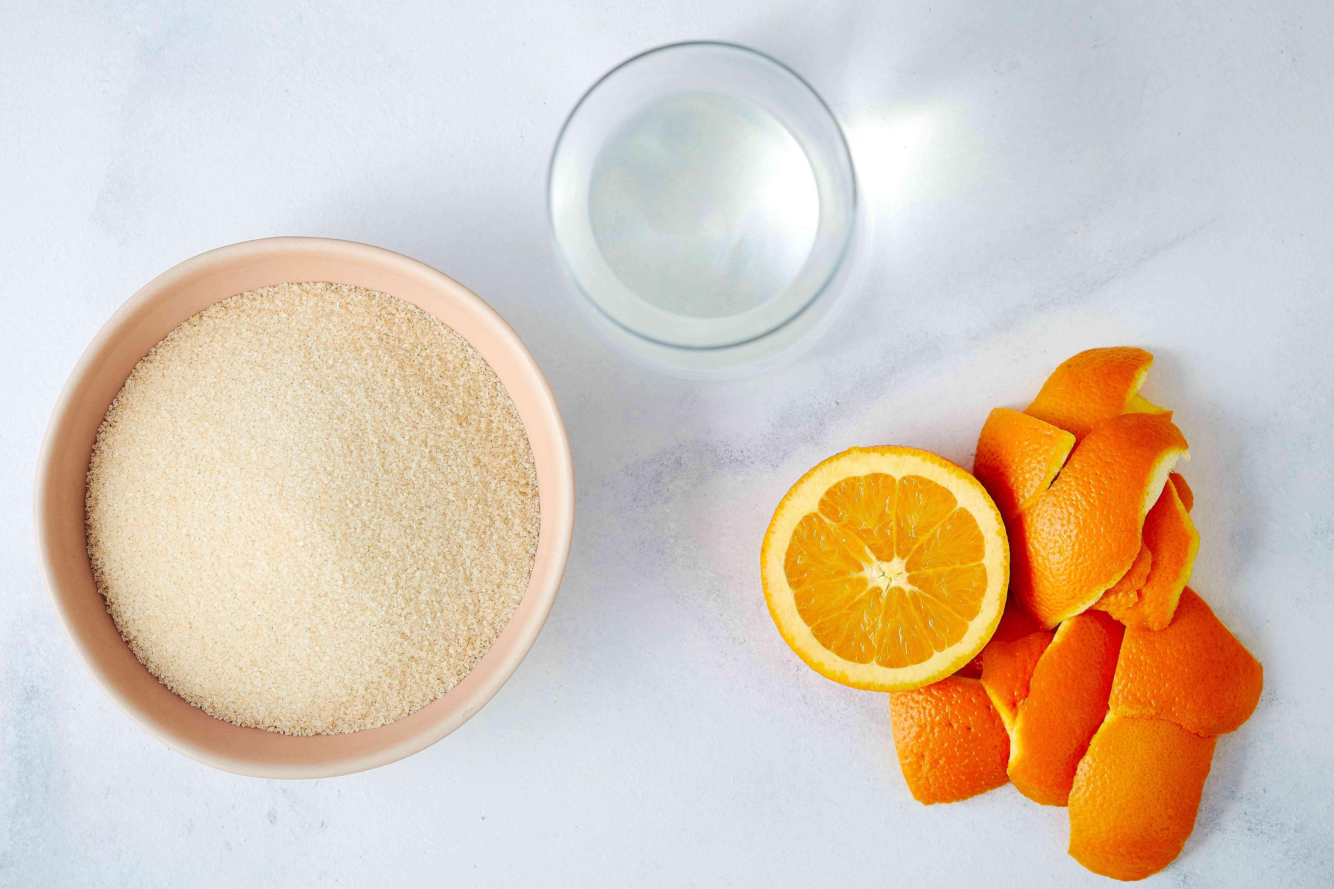 Orange simple syrup ingredients