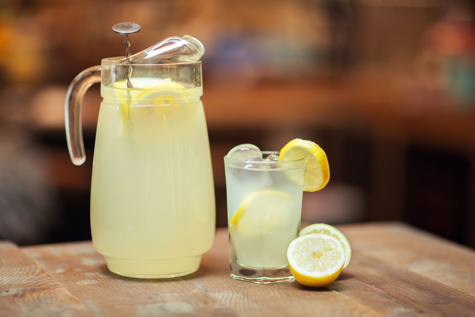 Indian style lemonade, chatpata nimboo pai