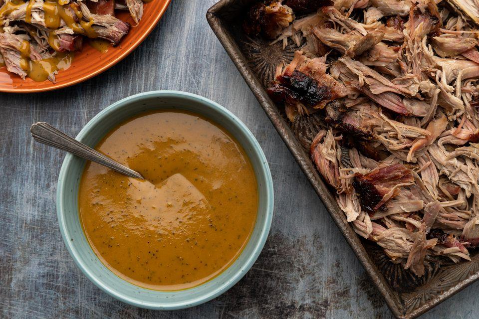 Georgia Mustard Barbecue Sauce