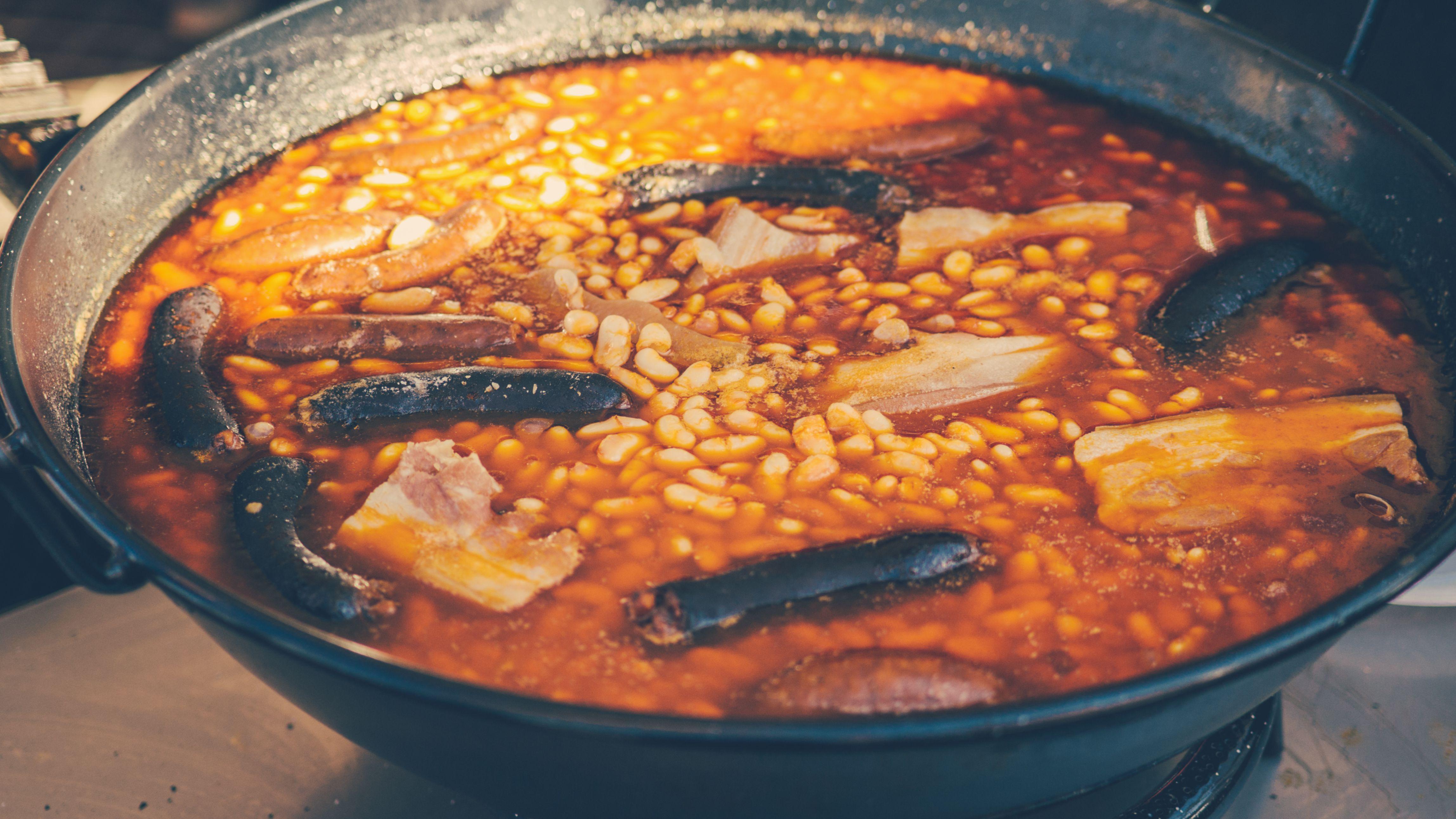 Spanish Fabada Asturiana Stew Recipe