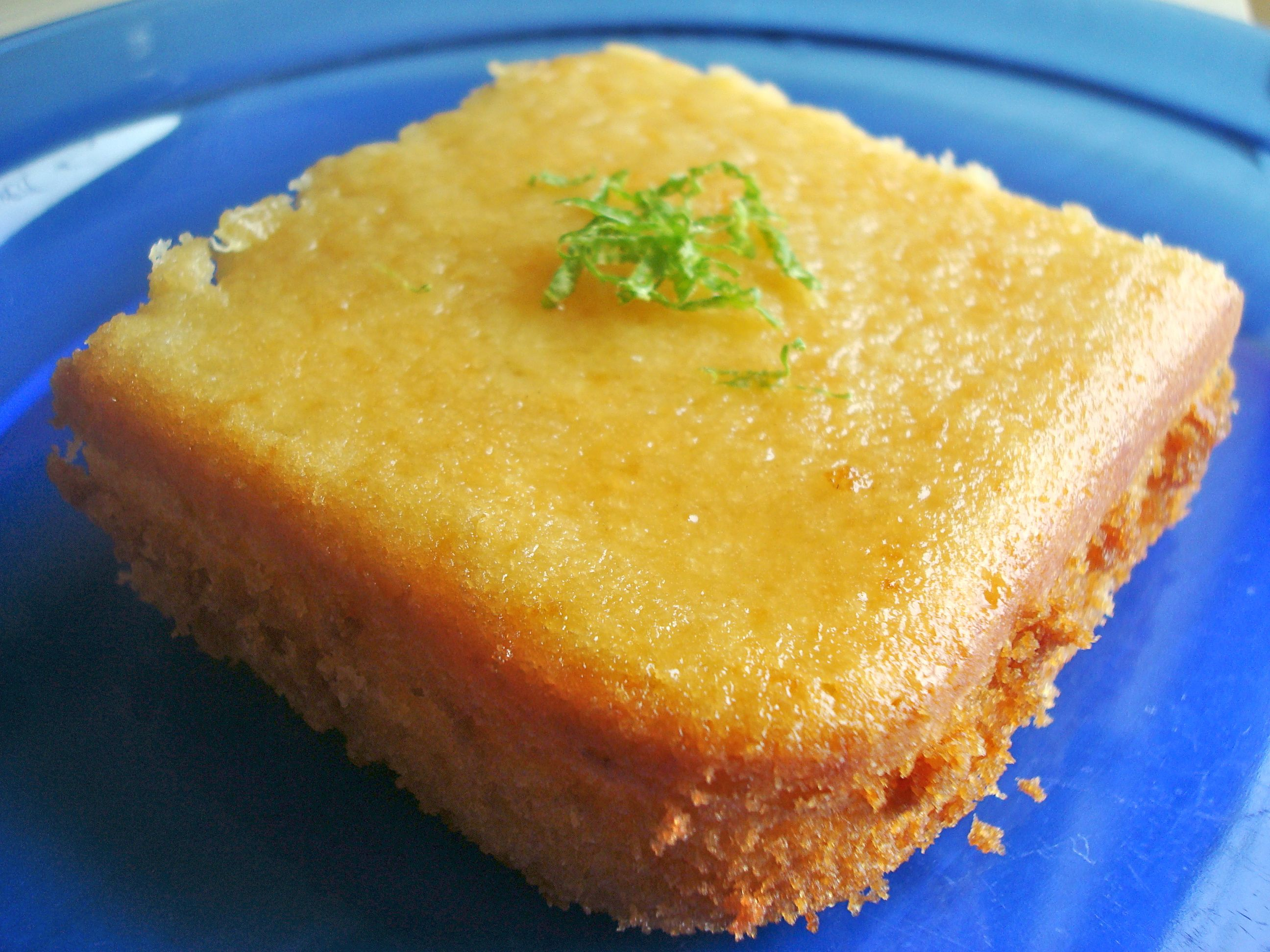 Citrus-Soaked Butter Cake (Dairy)