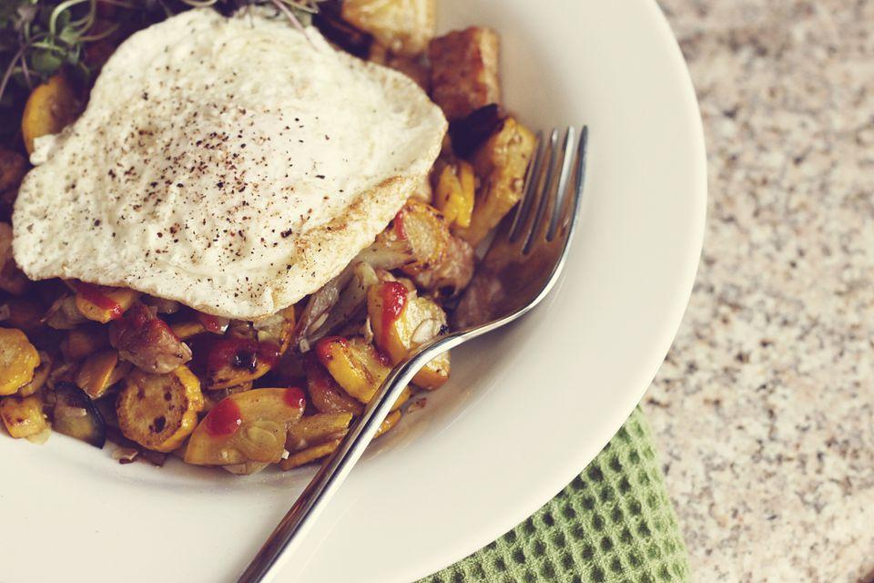 tempeh breakfast hash