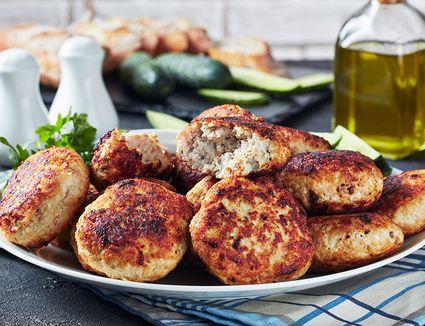 Polish Hamburgers (Mielone Kotlety)