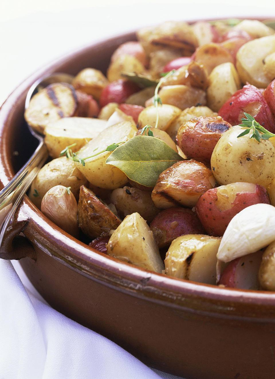 Garlic New Potatoes