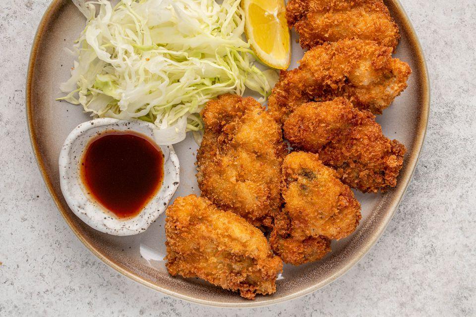 Kaki Fry (Japanese Fried Oysters)