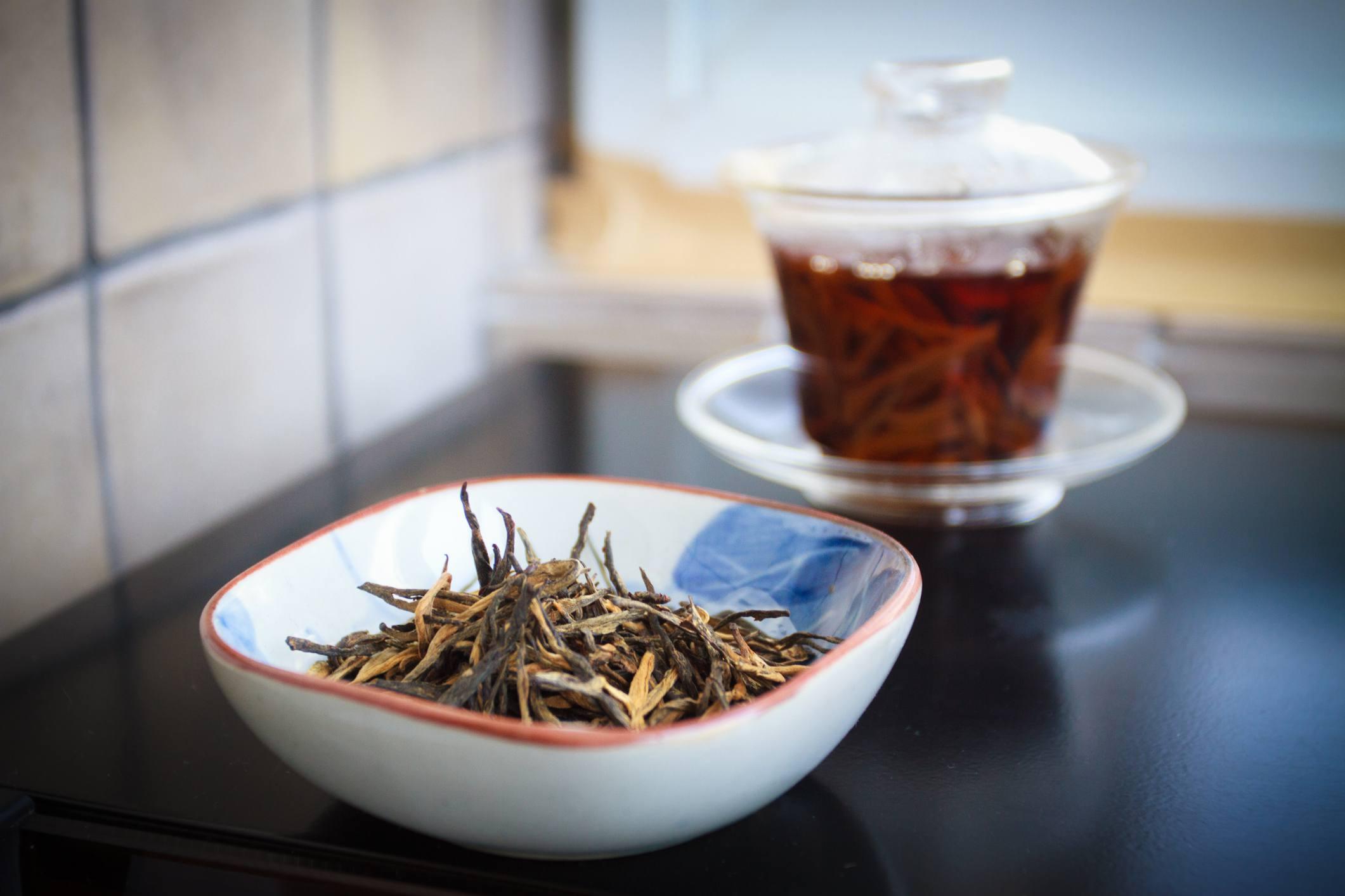 Red Yunnan tea