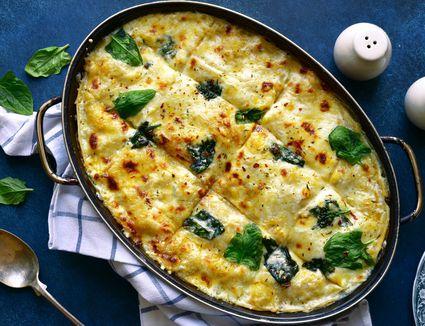 Chicken and Spinach Lasagna