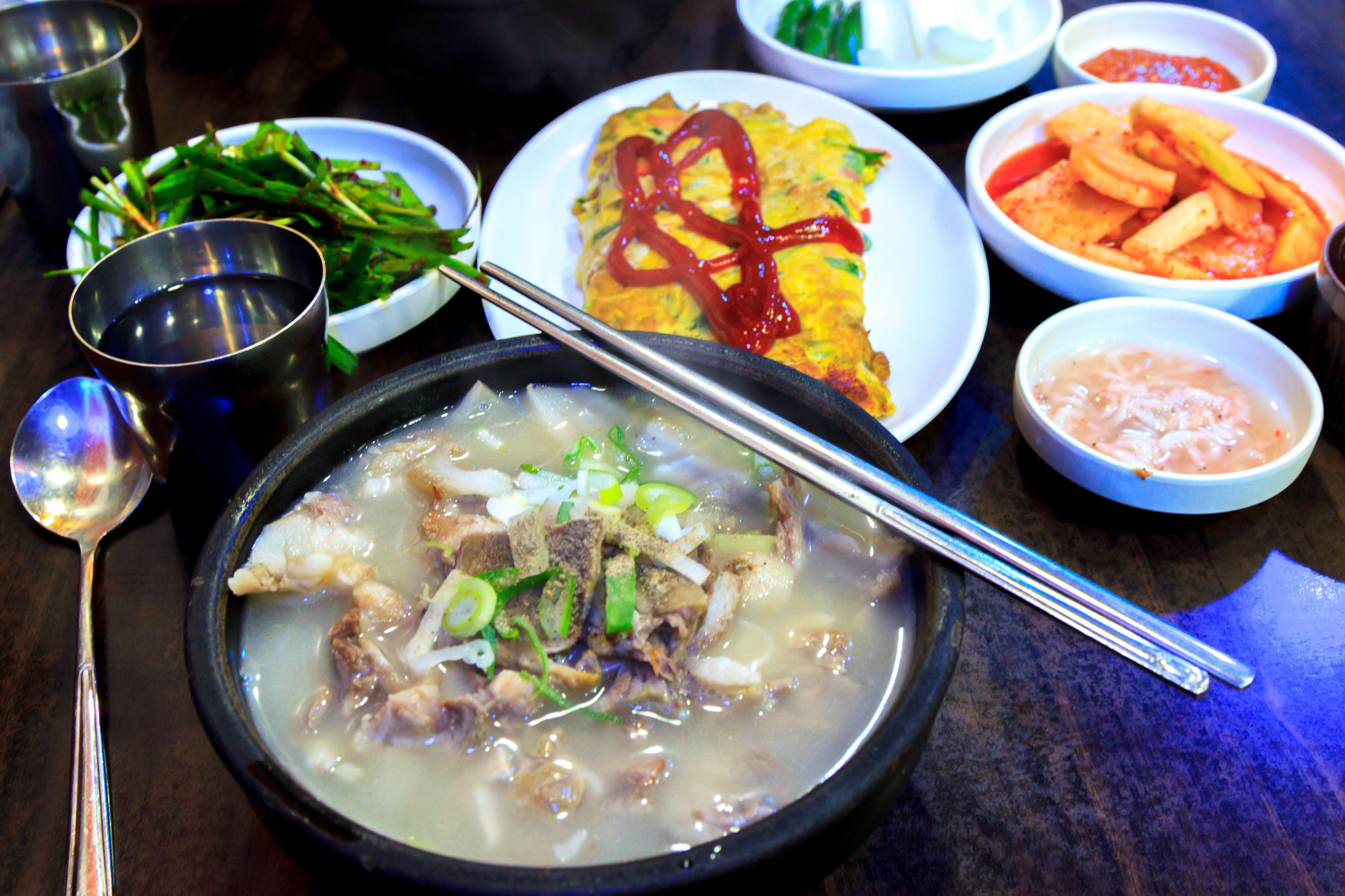 Korean spread