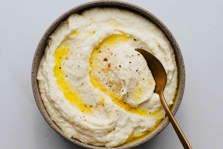 Creamed Yuca (Cassava) With Roasted Garlic