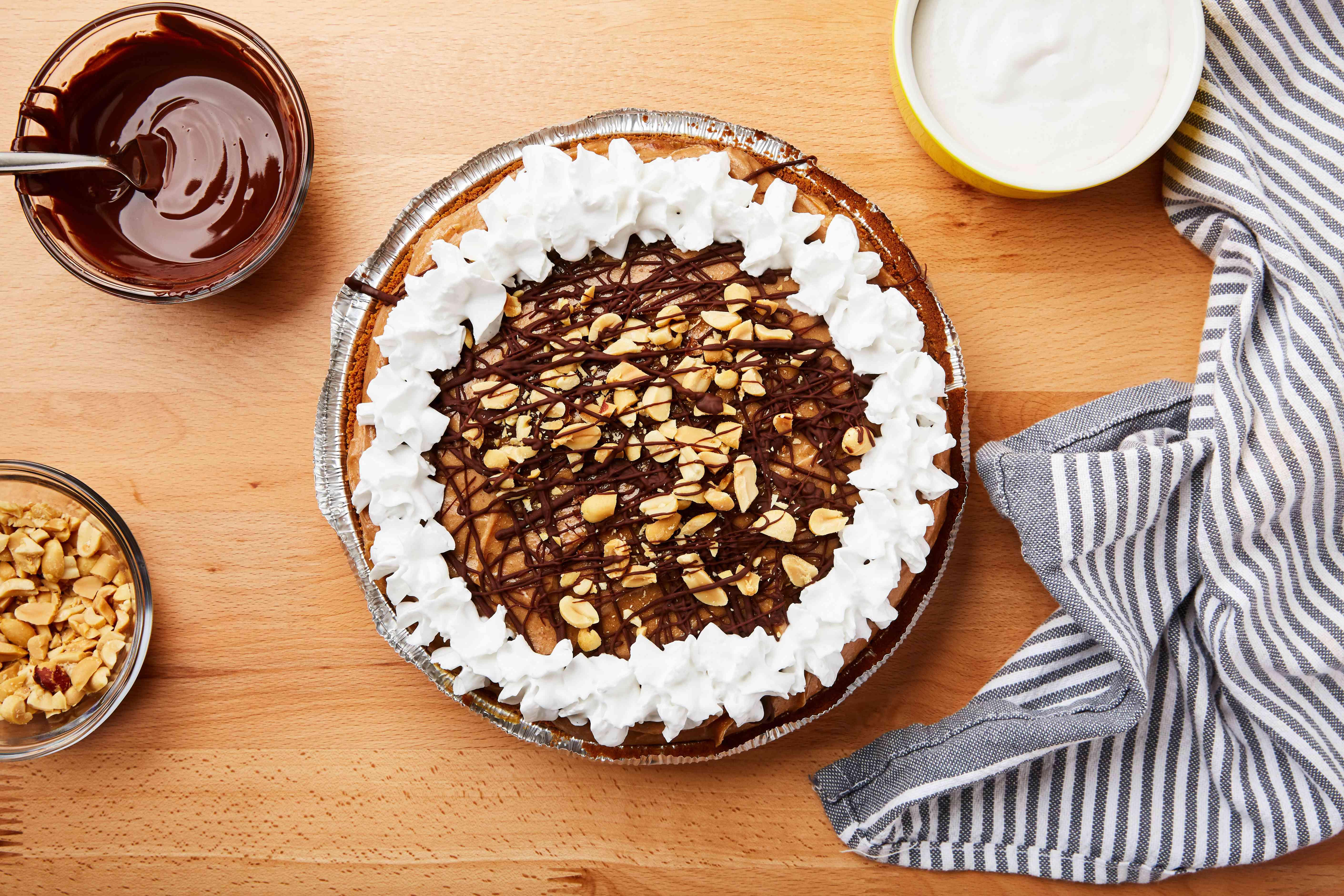 Garnish pie