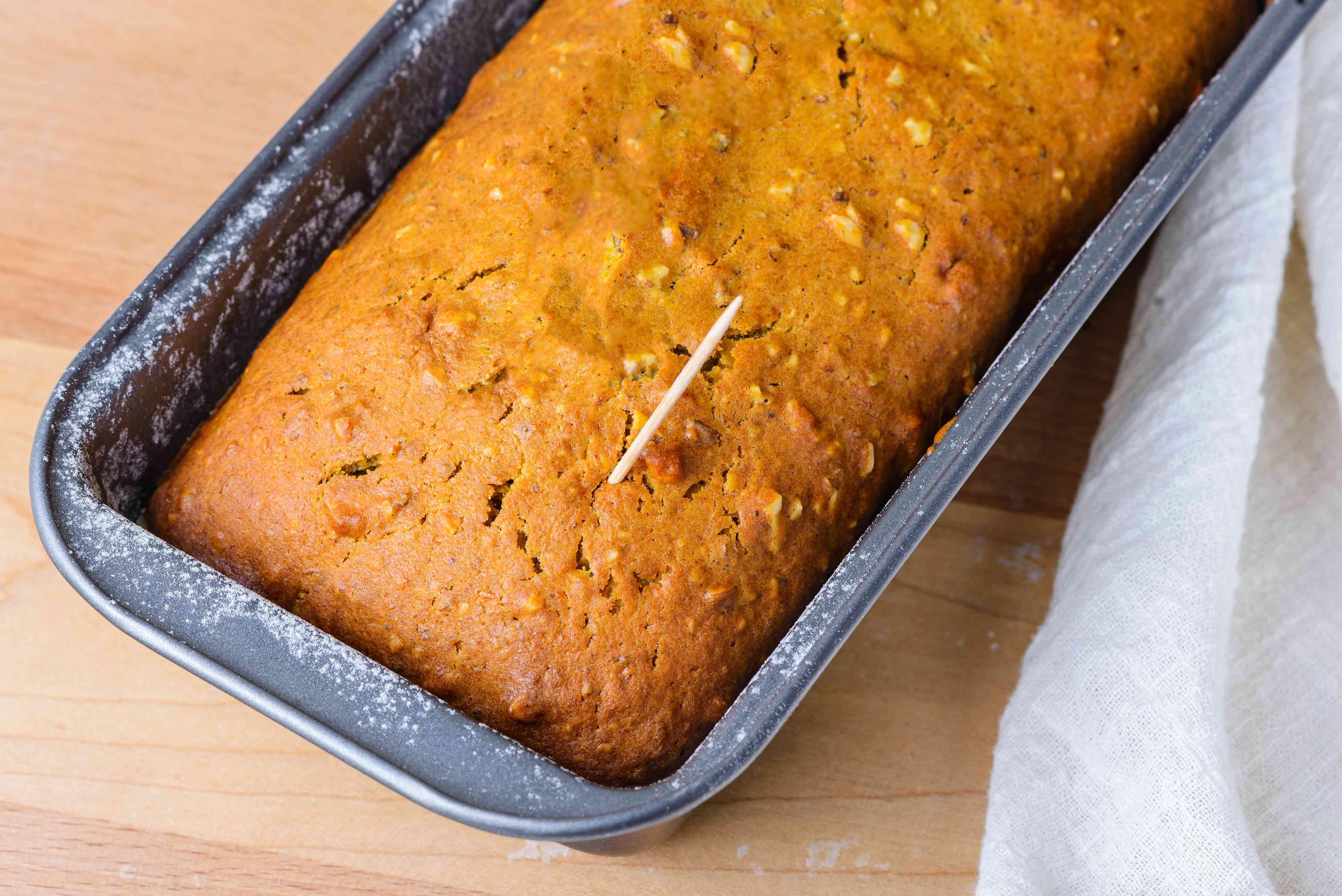Bake the loaves