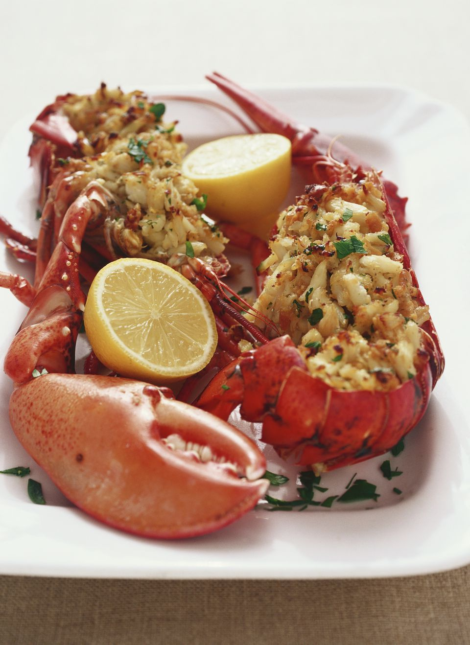 Easy and Elegant Baked Stuffed Lobster Recipe