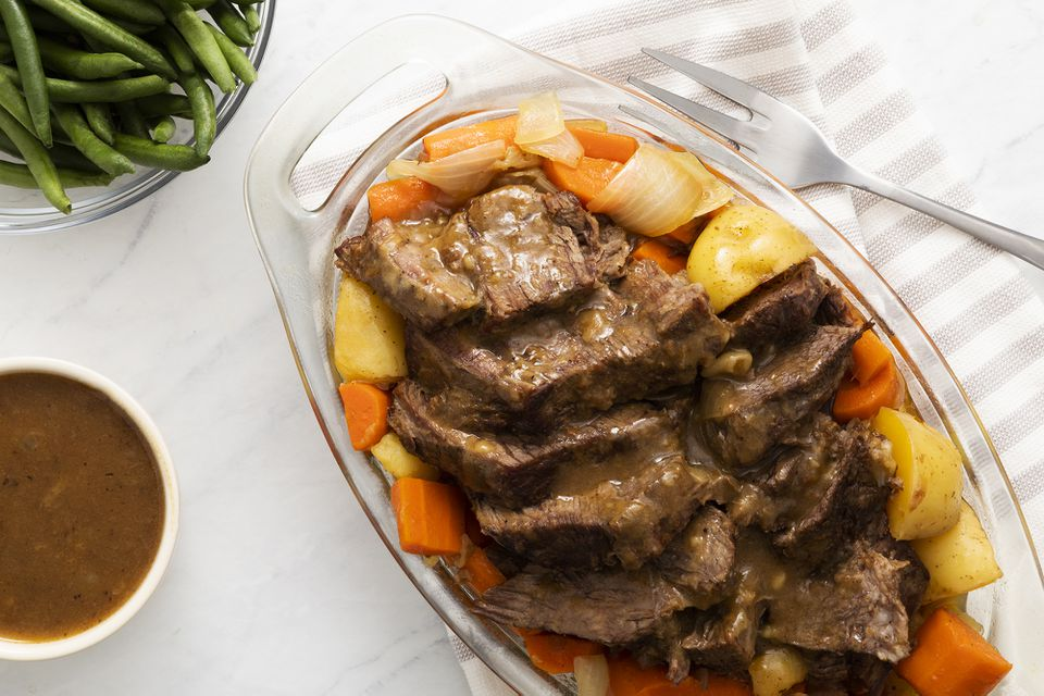 Family Pot Roast With Potatoes and Carrots