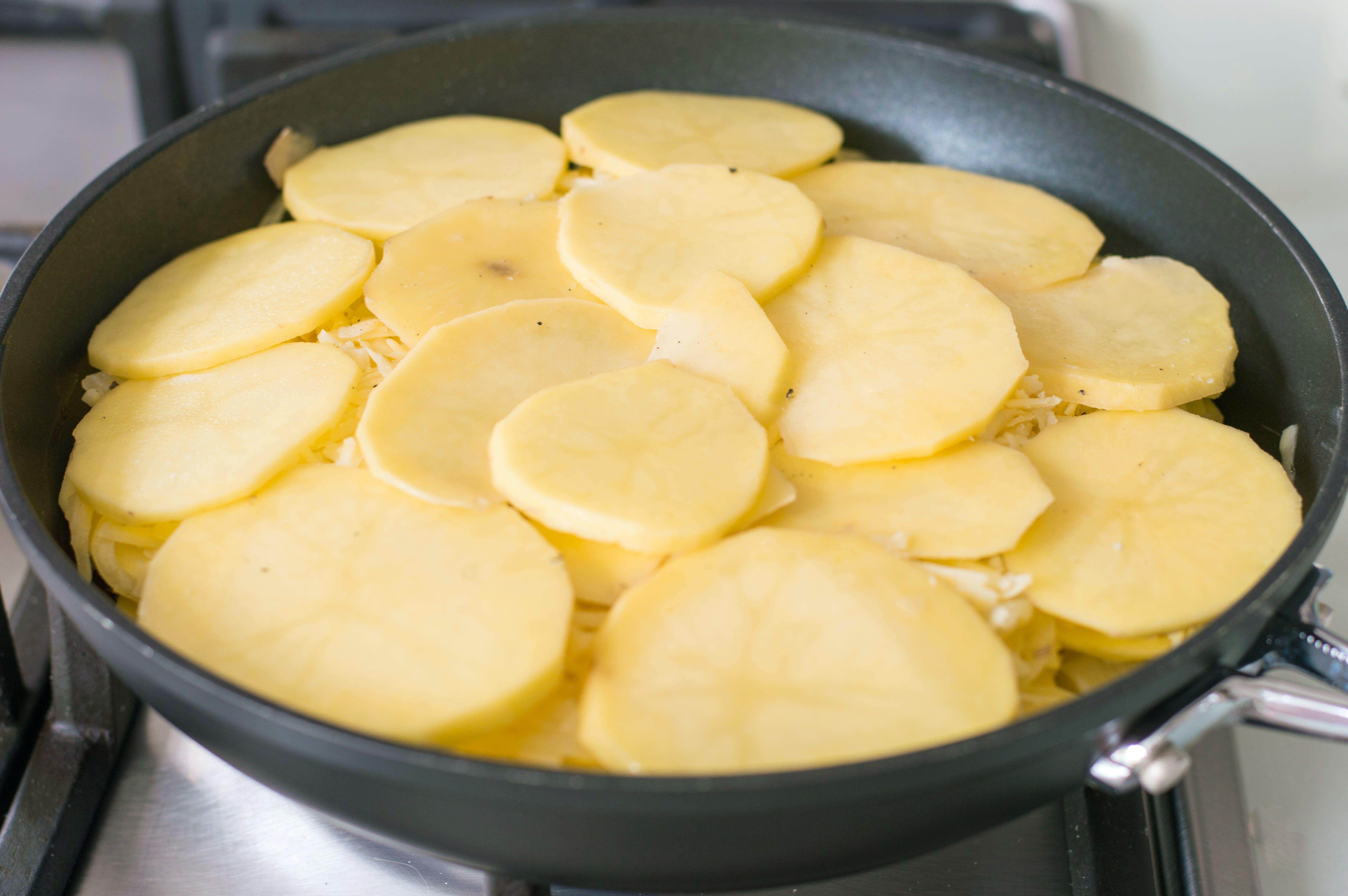 Place pan on medium heat