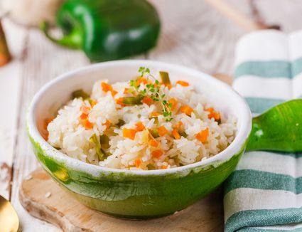 Easy rice with vegetables