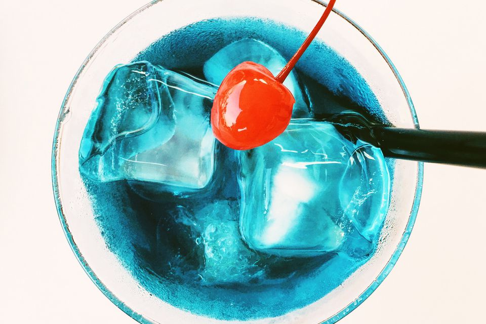 Frostbite - Blue Tequila Cocktail