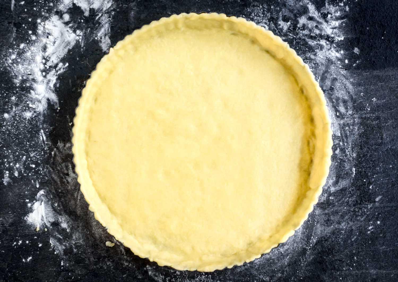 Homemade vegan pie crust