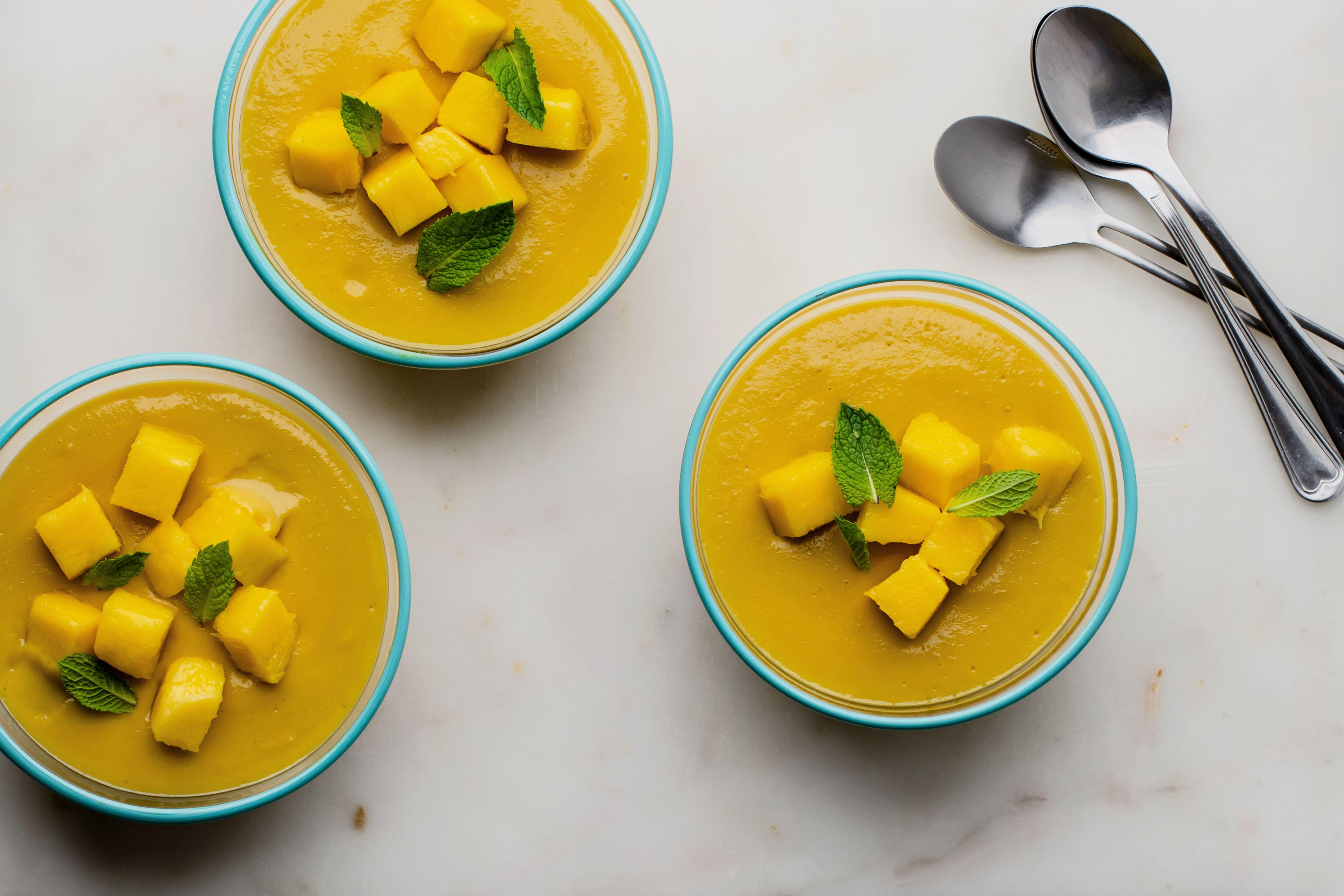 Easy Dairy Free Mango Custard Recipe