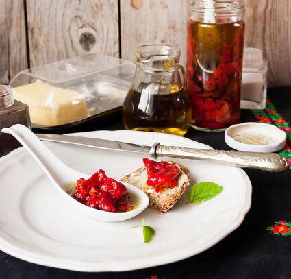 spanish red pepper tapa