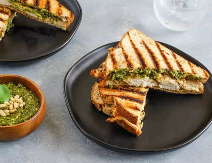 Grilled Chicken and Bacon Panini Sandwich