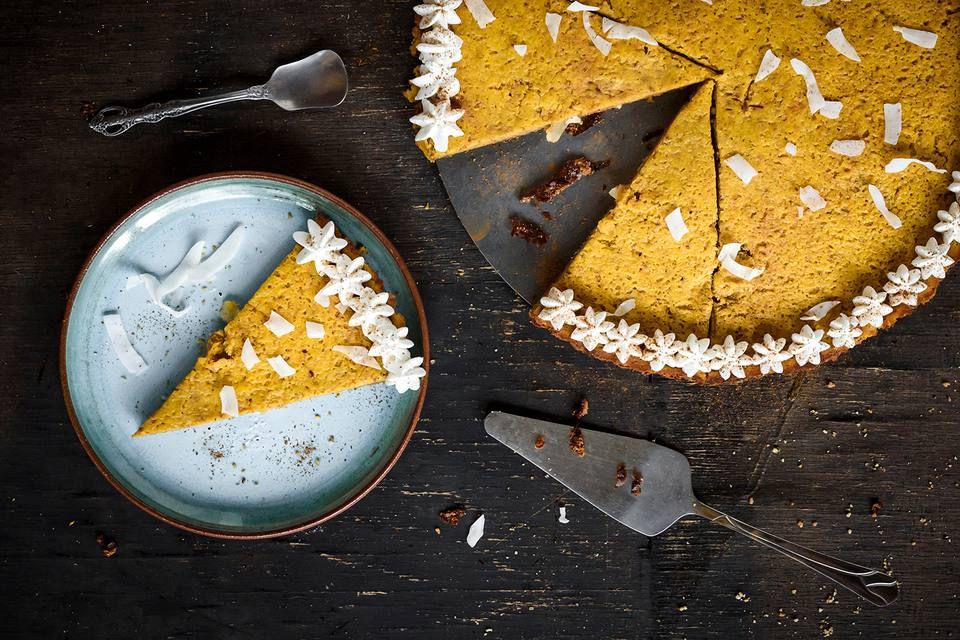 Pumpkin Pie Made With Coconut Milk