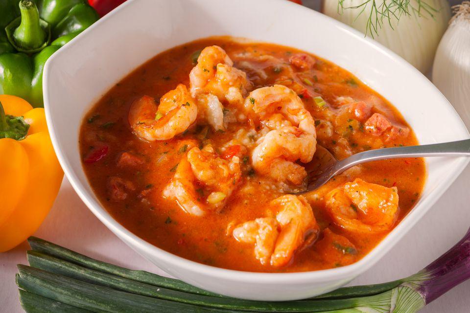 shrimp tagine