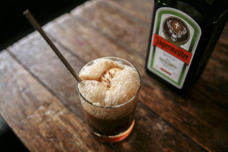 Jagermeister's The Inside Scoop Root Beer Float Cocktail Recipe by Erin Sullivan