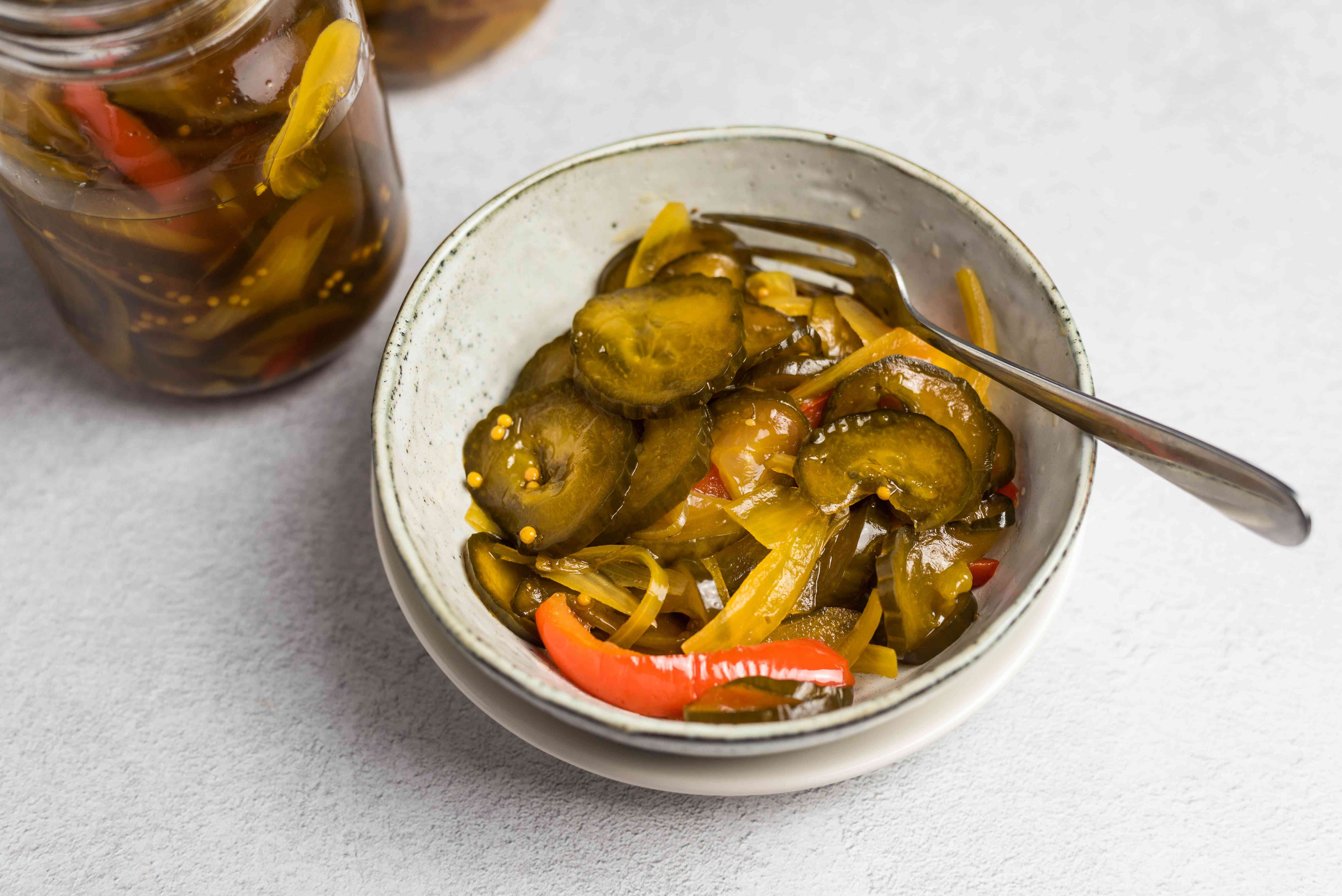 Classic bread and butter pickles recipe
