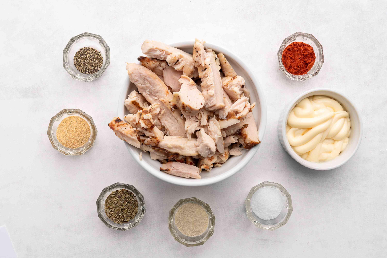 Chicken Sandwich Spread ingredients