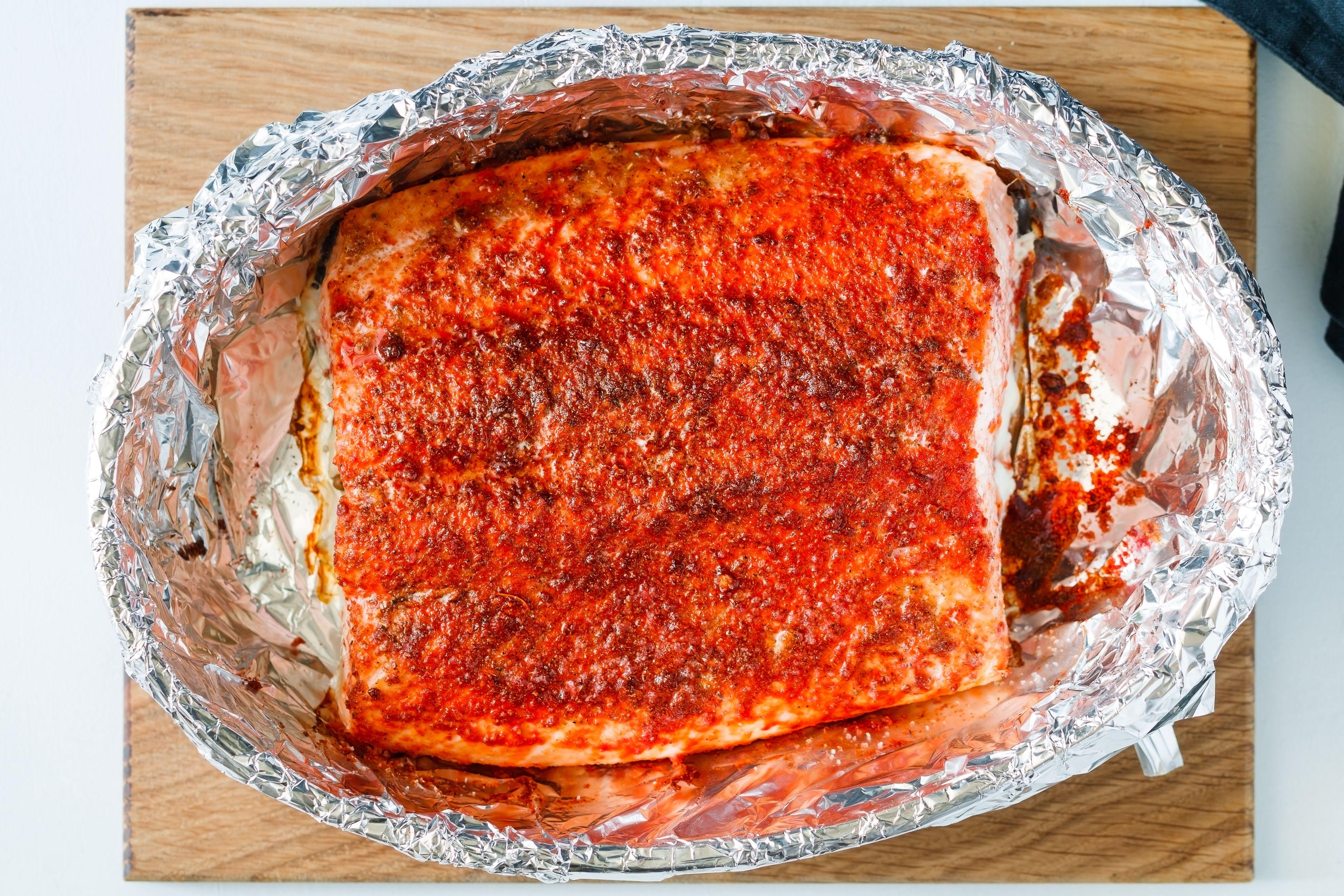Roasted Salmon Fillet