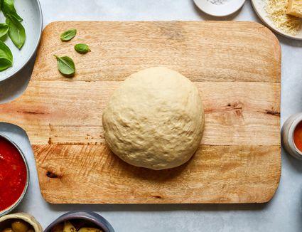Homemade Pan Pizza Dough recipe