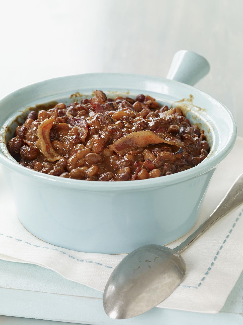 Crockpot Pork and Beans