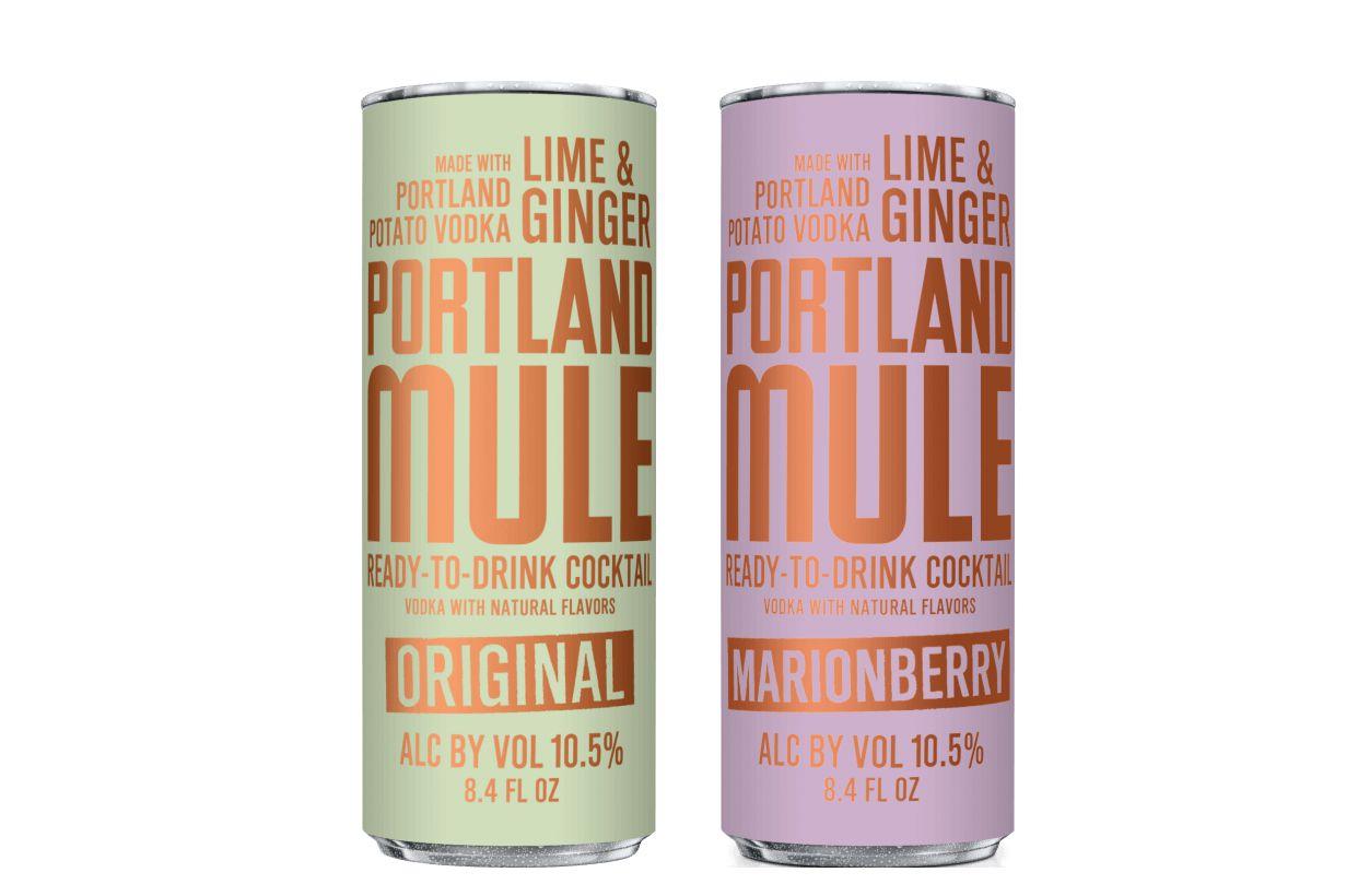 Eastside Distilling Portland Mule Canned Cocktails